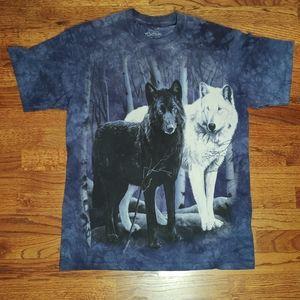 Men's wolf shirt